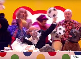 Harry Hill Whizzes Through 40 Years Of Telly In Four Minutes - And It's Epic