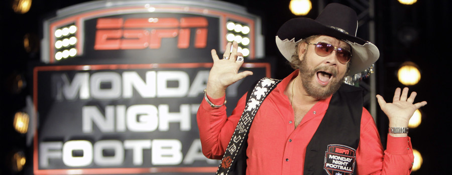 Hank Williams Jr. Compares Obama To Hitler ESPN decided to pull its Monday Night Football introduction after singer Hank Williams, Jr. made comments comparing President Obama to Hitler.