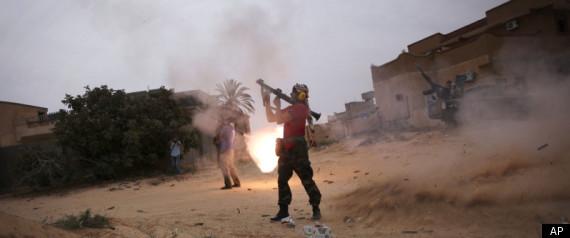LIBYA SIRTE FIGHTING