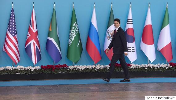 justin trudeau g20 summit