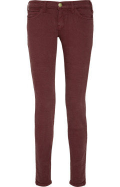 Wine colored jeans women – Global fashion jeans models