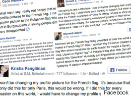 Why People Aren't Using Facebook's French Flag, In Their Own Words