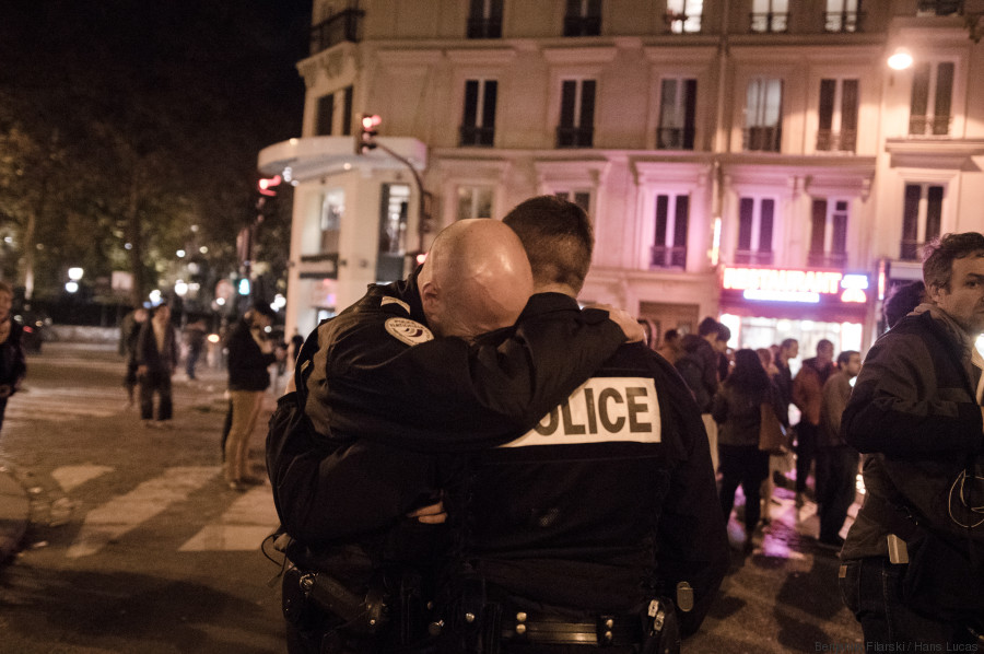 policiers attentats paris