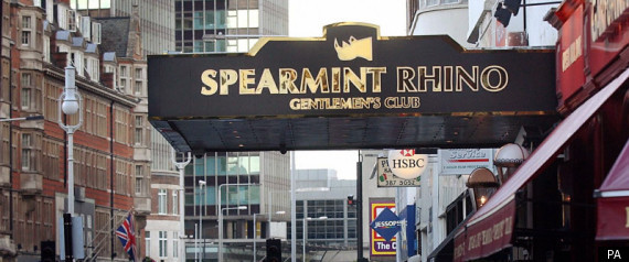 SPEARMINT RHINOS ENCOURAGE STUDENTS TO STRIP