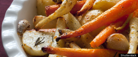 Roasted Root Vegetable