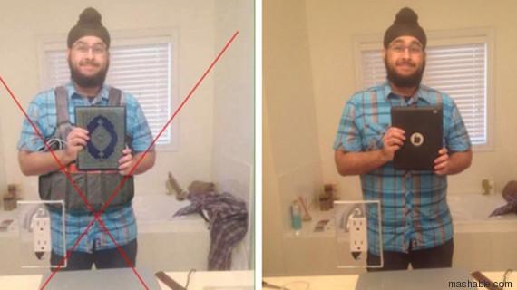 photos terroriste photoshop