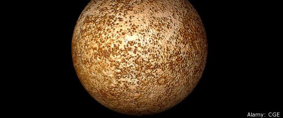 PLANET MERCURY NASA OUTER SPACE