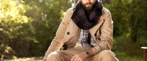 Stylish Man Scarf Fall