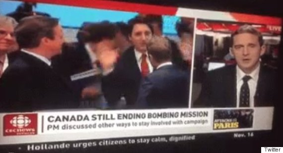 justin trudeau jazz hands