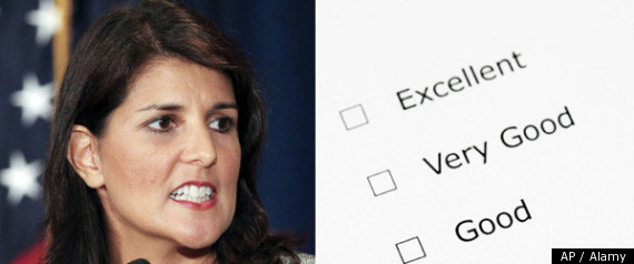 Nikki Haley Report Card