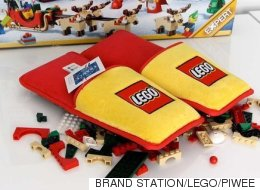 LEGO's Amazing New Slippers Will Spare Parents A Pain Like No Other