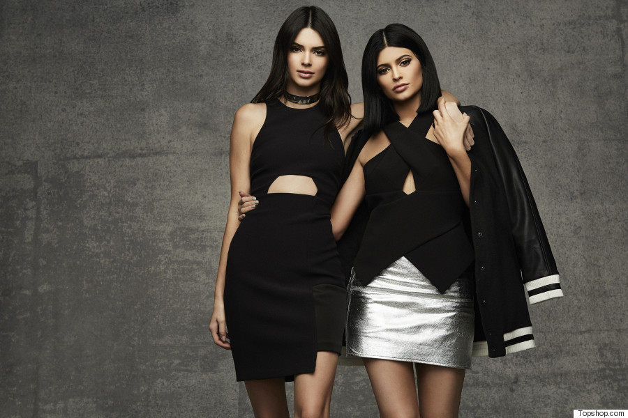 kendall and kylie jenner launch exclusive topshop party. Black Bedroom Furniture Sets. Home Design Ideas