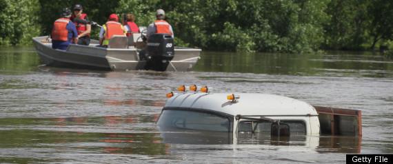 NORTH DAKOTA FLOOD FLOODING JUNE 2011