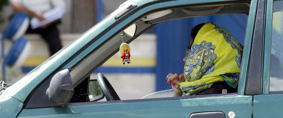 IRAN FEMALE DRIVERS
