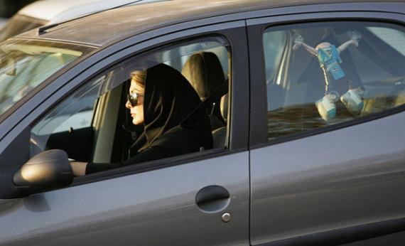 iranian female driver