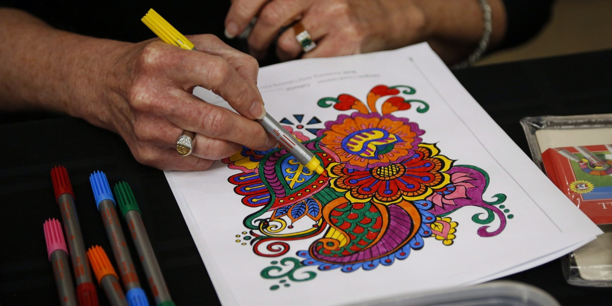 Adult Coloring Its Fun Stress Relieving And Calming