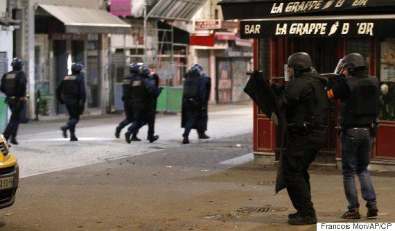 paris raids