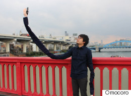 This Guy Was Embarrassed By Selfie Sticks So Devised The Perfect Disguise