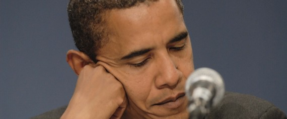 BARACK OBAMA CONTEMPLATES