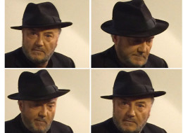George Galloway Just Flooded Twitter With Pictures Of Himself Looking Brooding In A Black Fedora