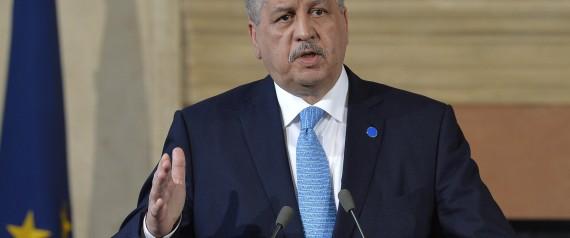 ALGERIA PRIME MINISTER