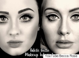 How To Get Adele's 60s-Style 'Hello' Makeup