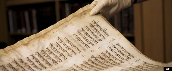Rare Bible Manuscript Display