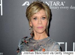 Jane Fonda Brings Boho Elegance To The 'Youth' Red Carpet
