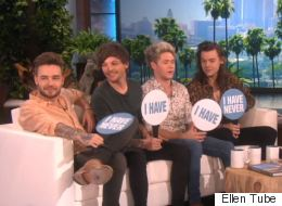 One Direction Played A Very Awkward Game Of 'Never Have I Ever' With Ellen