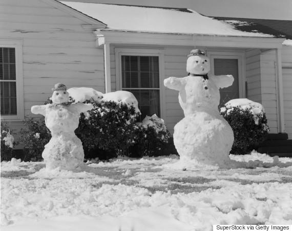 snowman vintage