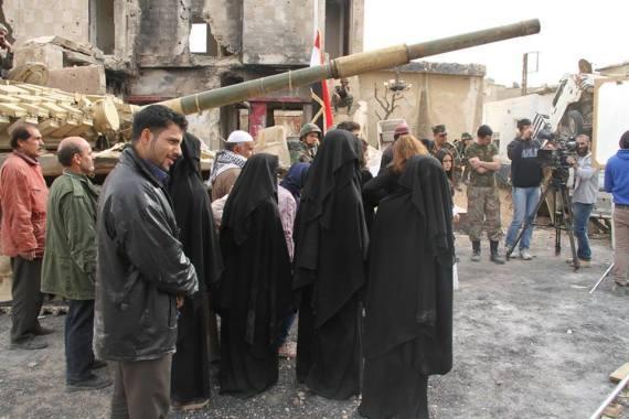 isis syria film