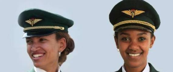 ETHIOPIAN AIRLINES FEMALE FLIGHT