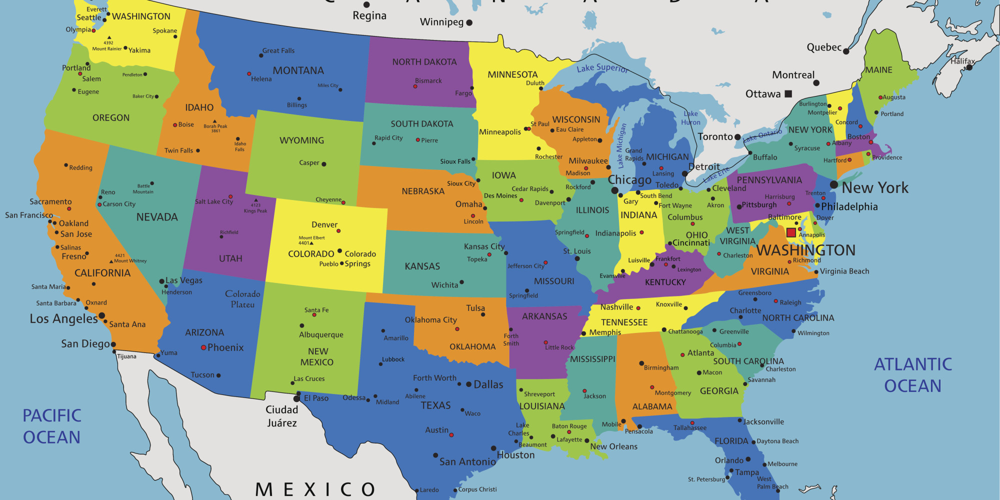 what southern city or state has the best accent pare map