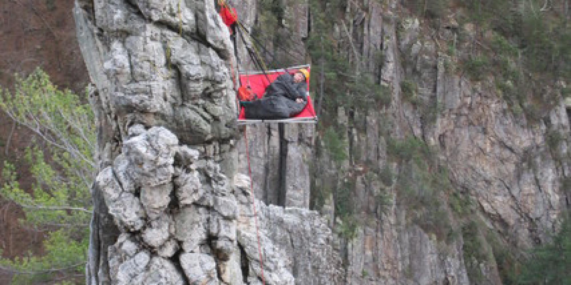 Sleeping Around How To Sleep On The Side Of A Mountain