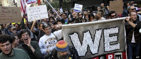 OCCUPY WALL STREET STUDENTS COLLEGE WALKOUT