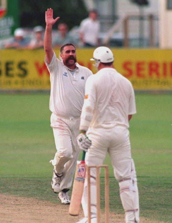 merv hughes australian bowler