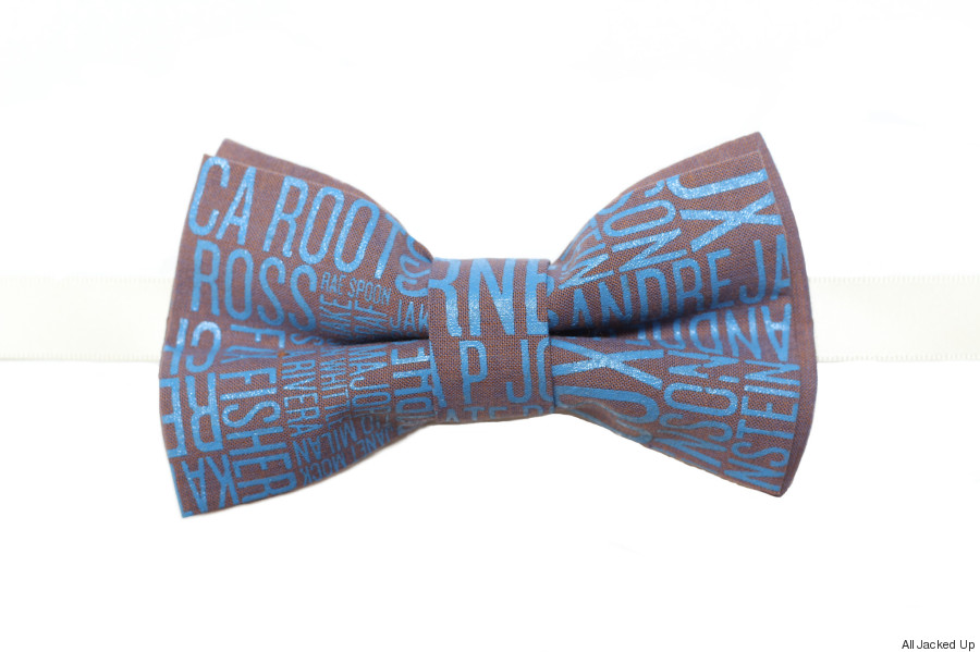 all jacked up bow tie