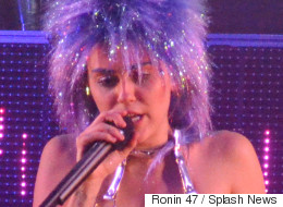 Miley Cyrus Kicks Off Tour In VERY NSFW Style