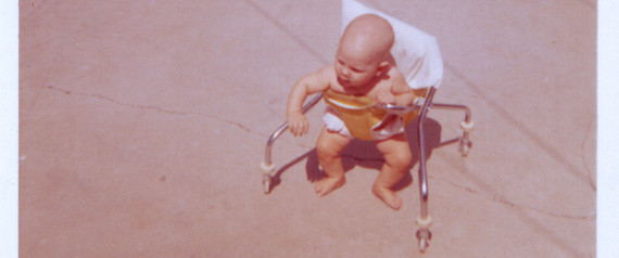 VINTAGE BABY WALKER