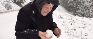 101 YEAR OLD WOMAN SNOW