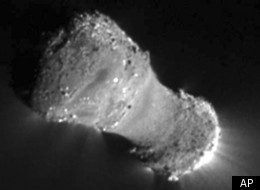 Comet Hartley 2 Nasa