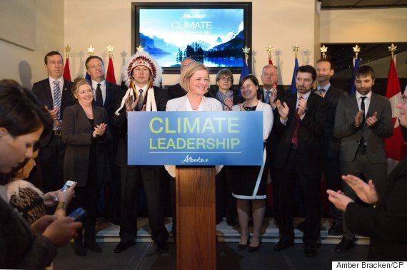 rachel notley climate change