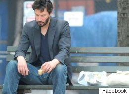 Keanu Reeves Inspiring Facebook Message Receives A Million 'Likes'
