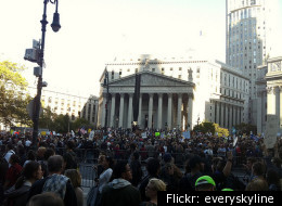 Foley Square Before The March