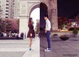 Le quotidien d'une relation longue distance mis en images (PHOTOS)
