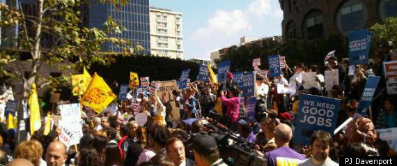OCCUPY LA PROTESTS