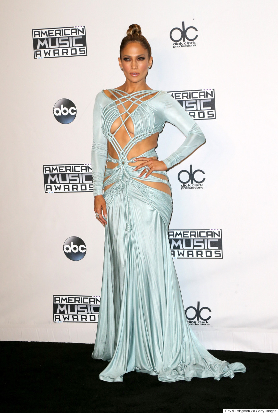 jennifer lopez hot AMA 2015