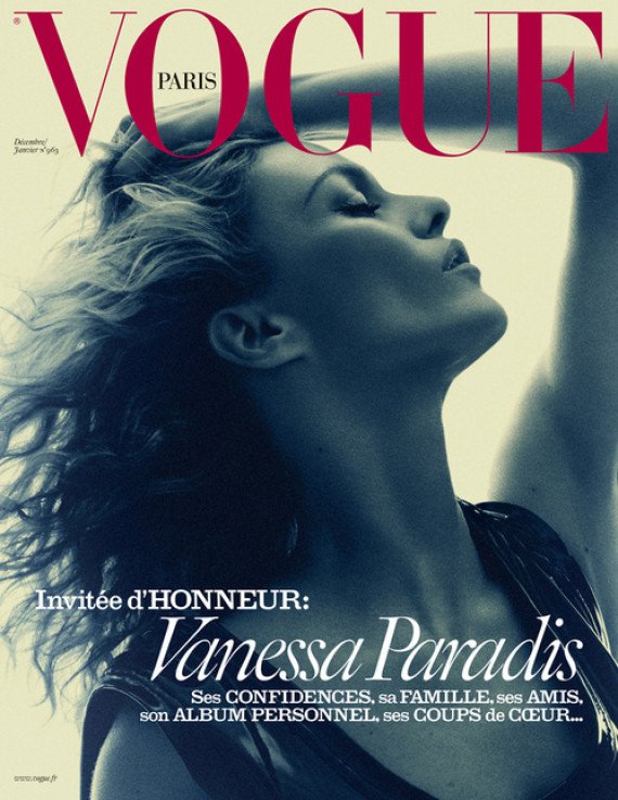 vogue paris vanessa paradis couv