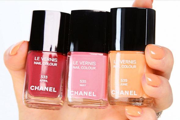 Chanel Spring 2012 Nail Colors (PHOTO) | HuffPost Life