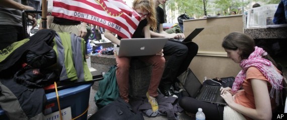 Occupy Wall Street Social Media